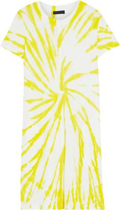 ATM Anthony Thomas Melillo Tie-dyed Slub Pima Cotton-jersey Mini Dress