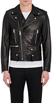 Saint Laurent Men's Leather Moto Jacket