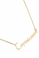 Rebecca Minkoff Capricorn Zodiac Necklace in Gold