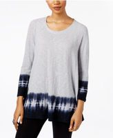 Style&Co. Style & Co Tie-Dyed Top, Only at Macy's
