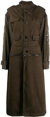 A.F.Vandevorst belted trench coat