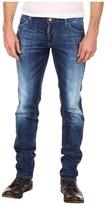 DSquared DSQUARED2 - Stretch Denim Slim Jean (Blue) - Apparel