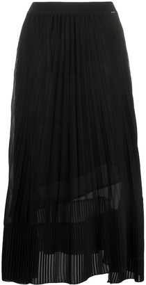 Liu Jo Pleated Midi Skirt