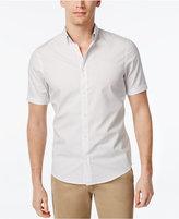 Michael Kors Men's Slim-Fit Dot-Pattern Short-Sleeve Shirt
