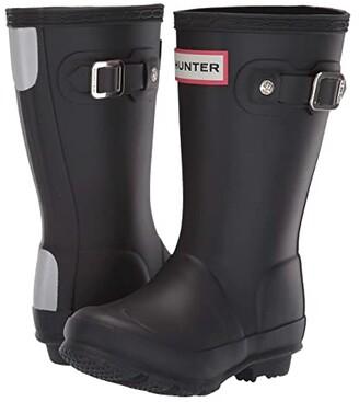 Hunter Original Kids' Rain Boot (Toddler/Little Kid) (Black) Kids Shoes