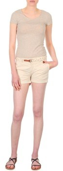 Franklin & Marshall Franklin Marshall MACQUARIE women's Shorts in Beige