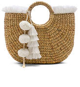 JADEtribe Basket Small Fringe
