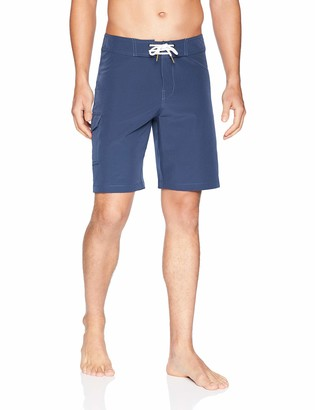 "Goodthreads Amazon Brand Men's 9"" Inseam Swim Boardshort"
