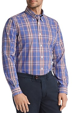 Brooks Brothers Yarn-Dyed Plaid Classic Fit Button-Down Shirt