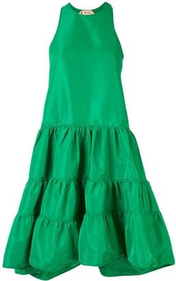 No.21 Tiered Sleeveless Dress