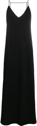 Jil Sander Sleeveless V-Neck Dress