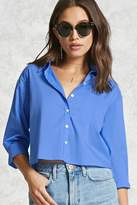 Forever 21 Boxy Button-Up Shirt