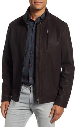 Rodd & Gunn Westhaven Distressed Leather Bomber Jacket