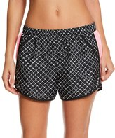 Under Armour Women's UA FlyBy Printed Run Short - 8153059