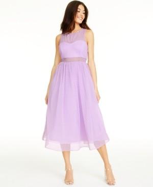 Betsey Johnson Dotted Illusion Dress