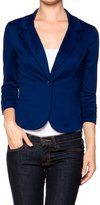 Apparel Sense A.S Juniors Casual Three Quarter Sleeve Fitted Blazer