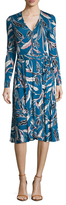 Yumi Kim Jersey Around Town Printed Midi Dress