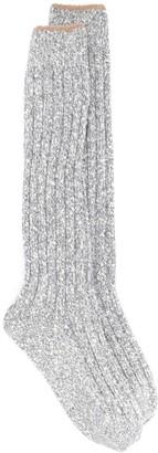 Brunello Cucinelli Speckled Knit Socks