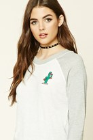 Forever 21 FOREVER 21+ Cactus Graphic Sweatshirt