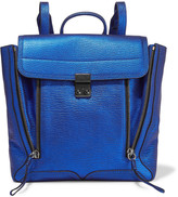 3.1 Phillip Lim Pashli convertible metallic textured-leather backpack