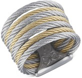 Alor Two Tone Cable Ring