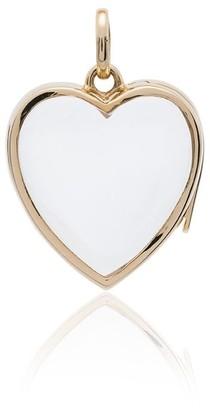 Loquet 14k Yellow Gold Heart Pendant Necklace