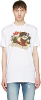 DSQUARED2 White Lumberjack T-shirt