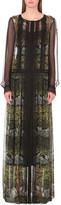 Alberta Ferretti Floral print silk maxi dress