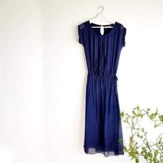 The Voewood - Silk Midi Dress