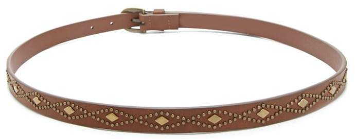 Forever 21 Faux Leather Geo Belt