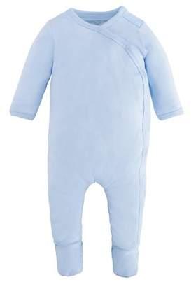 Under the Nile Baby Boy Organic Cotton Side-Snap Footie Pajamas