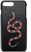 Gucci GG Kingsnake iPhone 7 Plus case - men - Leather - One Size