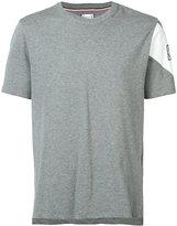 Moncler Gamme Bleu sleeve print T-shirt - men - Cotton - S