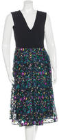 Erdem Loren Embroidered Dress w/ Tags