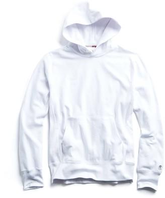 Todd Snyder + Champion Lightweight Popover Sweatshirt in White