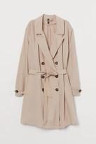 H&M H&M+ Lightweight Trenchcoat - Beige