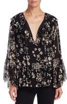 Rebecca Minkoff Patti Floral Blouse