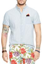 Denim & Supply Ralph Lauren Short Sleeve Denim Shirt, Light Blue