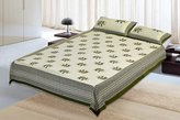 Jaipur textile Hub Cotton Double Bedsheet With 2 Pillow Covers(JTH-CBO-56)