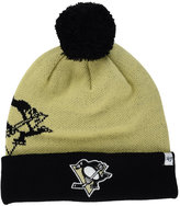 '47 Pittsburgh Penguins Double Stack Pom Knit Hat