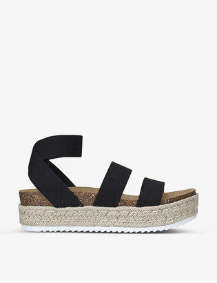 Steve Madden Kimmie elastic-strap platform sandals