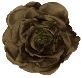 Philippa Craddock - Rose And Moss Flower Brooch - Womens - Green