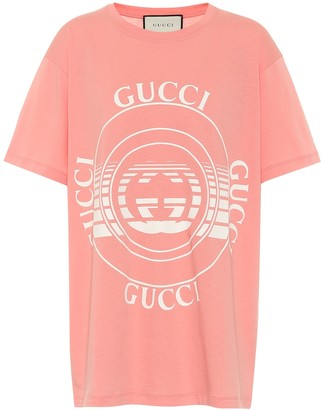 Gucci Oversized organic cotton T-shirt