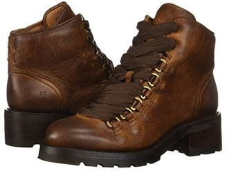 Frye Alta Hiker (Cognac Washed Antique Pull-Up) Women's Boots