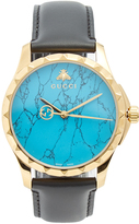 Gucci Le Marché des Merveilles leather watch