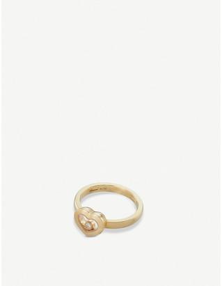 Chopard Happy Diamonds Icon 18ct yellow-gold and diamond ring
