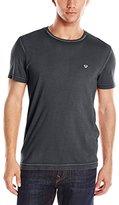 True Religion Men's Acid Wash Short Sleeve T-Shirt