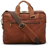 Kenneth Cole Double-Gusset Leather Portfolio