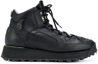 Acne Studios Trekking lace-up boots