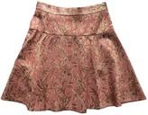 Dolce & Gabbana Pink Silk Skirt for Women